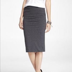Express Stretch Knit pencil skirt